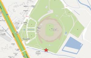埼スタ滑走場所